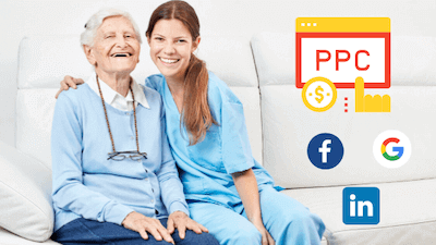 Pay per click options for home care