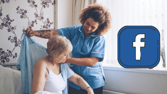 How to use facebook to hire caregivers